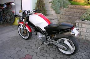 Umgebautes Motorrad Ducati Monster 600 Von Maexchen77 1000psat