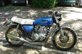 Honda CB 500 Umbau anzeigen