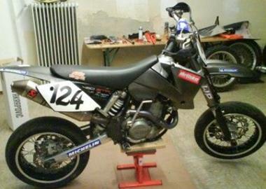 Gebrauchtmotorrad KTM 450 SMR