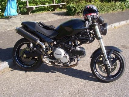 Ducati Monster 600 Dark Umbau