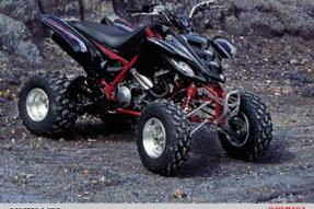 Yamaha YFM 660R Umbau anzeigen