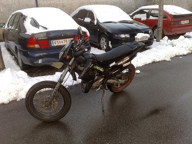 Umgebautes Motorrad Derbi Senda Drd X Treme 50 Sm Von