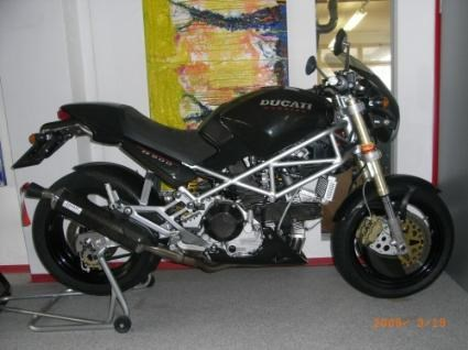 umgebautes motorrad ducati monster 900 von w west. Black Bedroom Furniture Sets. Home Design Ideas