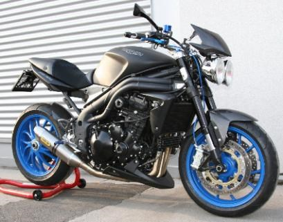 Triumph Speed Triple 1050 Umbau