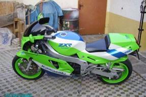Kawasaki ZXR 750 Umbau anzeigen