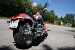 Harley-Davidson V-Rod VRSCA Umbau anzeigen