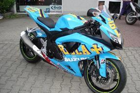 Suzuki GSX-R 750 Umbau anzeigen