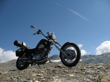 Yamaha XV 1000 Virago Custom Bike