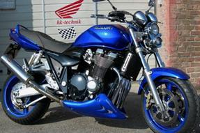 Suzuki GSX 1400 Umbau anzeigen