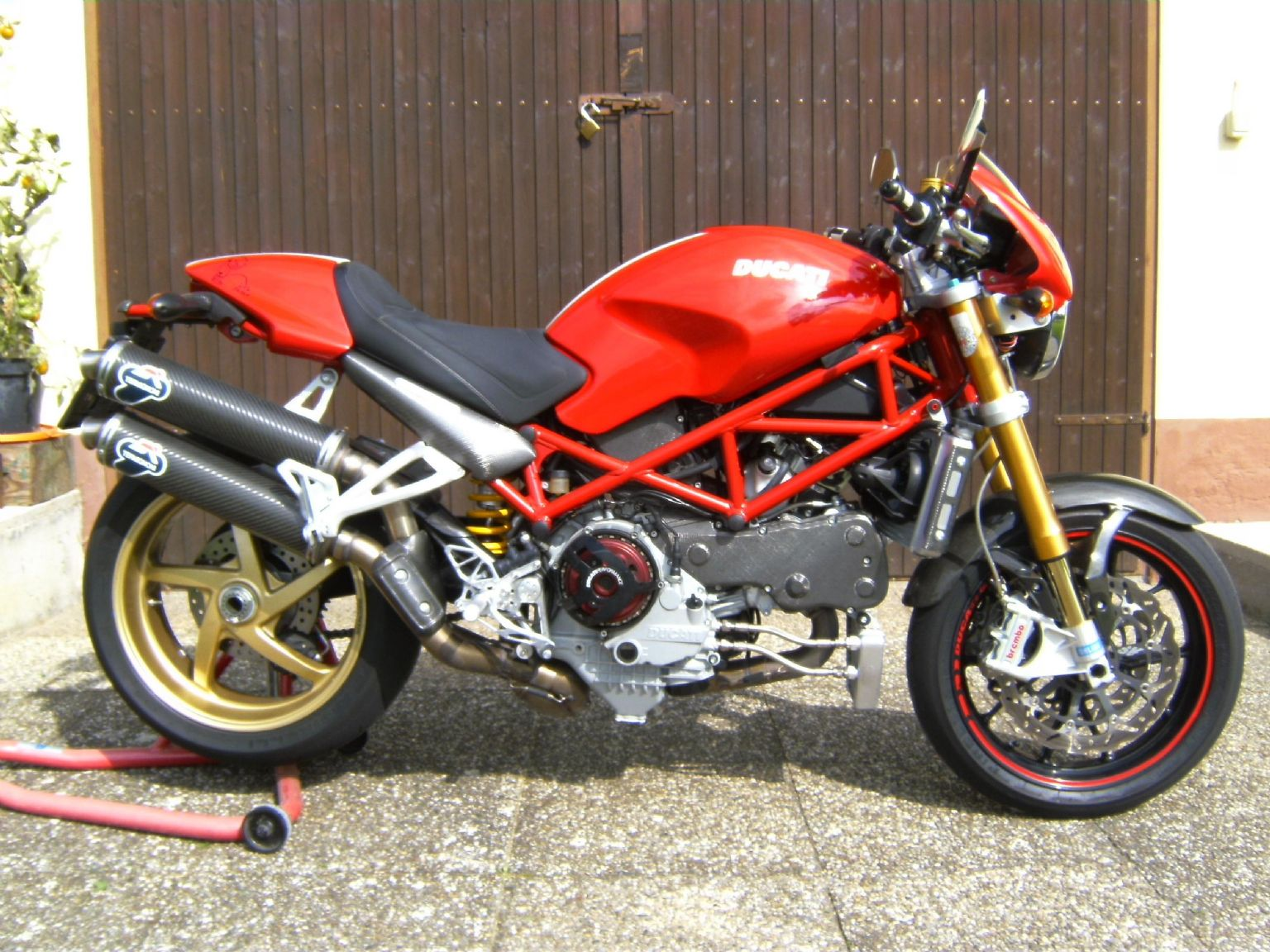 umgebautes motorrad ducati monster s4rs von klausrieder. Black Bedroom Furniture Sets. Home Design Ideas