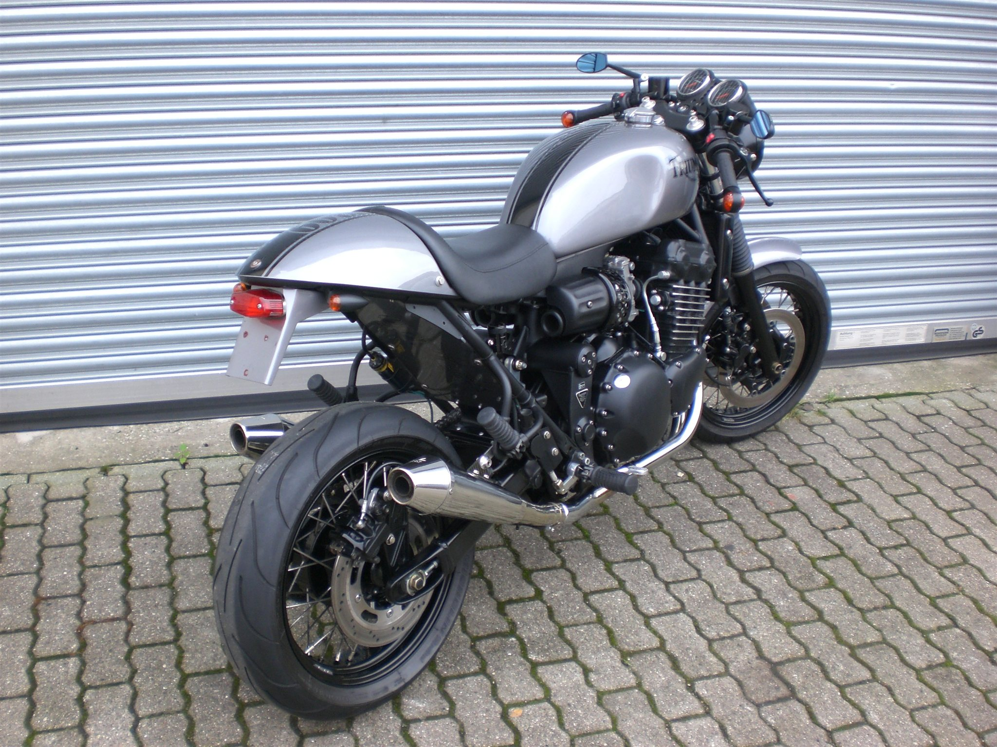 Details Zum Custom Bike Triumph Thunderbird Sport Des Händlers