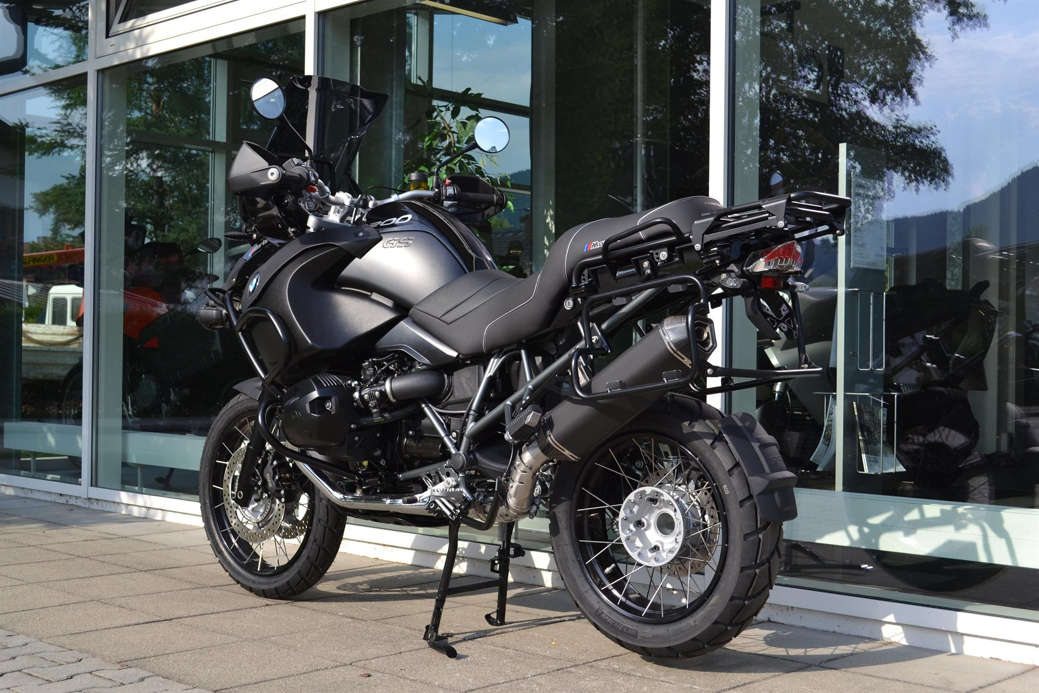 umgebautes motorrad bmw r 1200 gs adventure von erwin. Black Bedroom Furniture Sets. Home Design Ideas