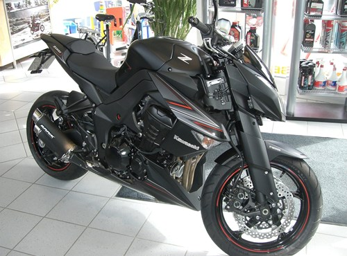 Kawasaki Z 1000 Black Edition