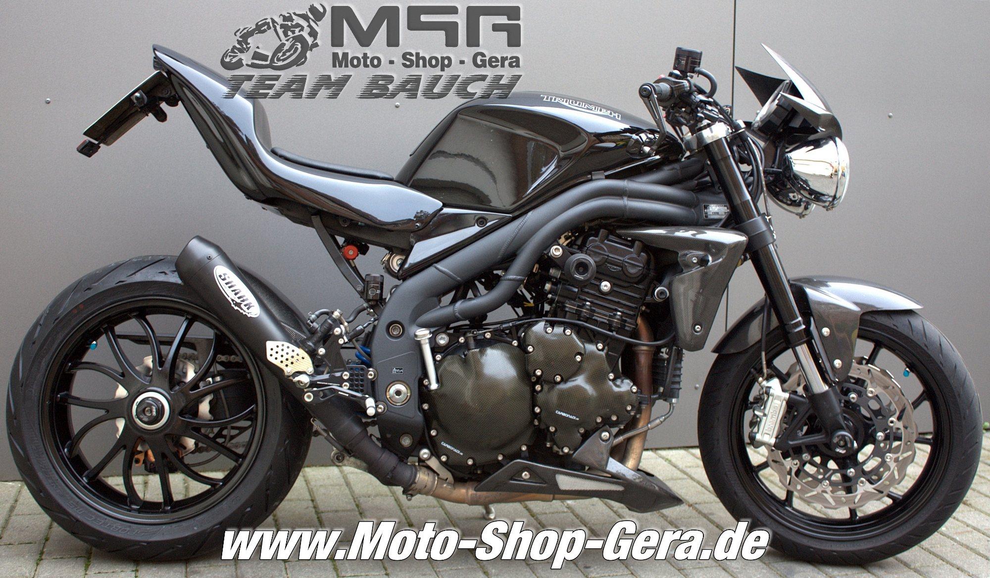 Umgebautes Motorrad Triumph Speed Triple 1050 von Triumph