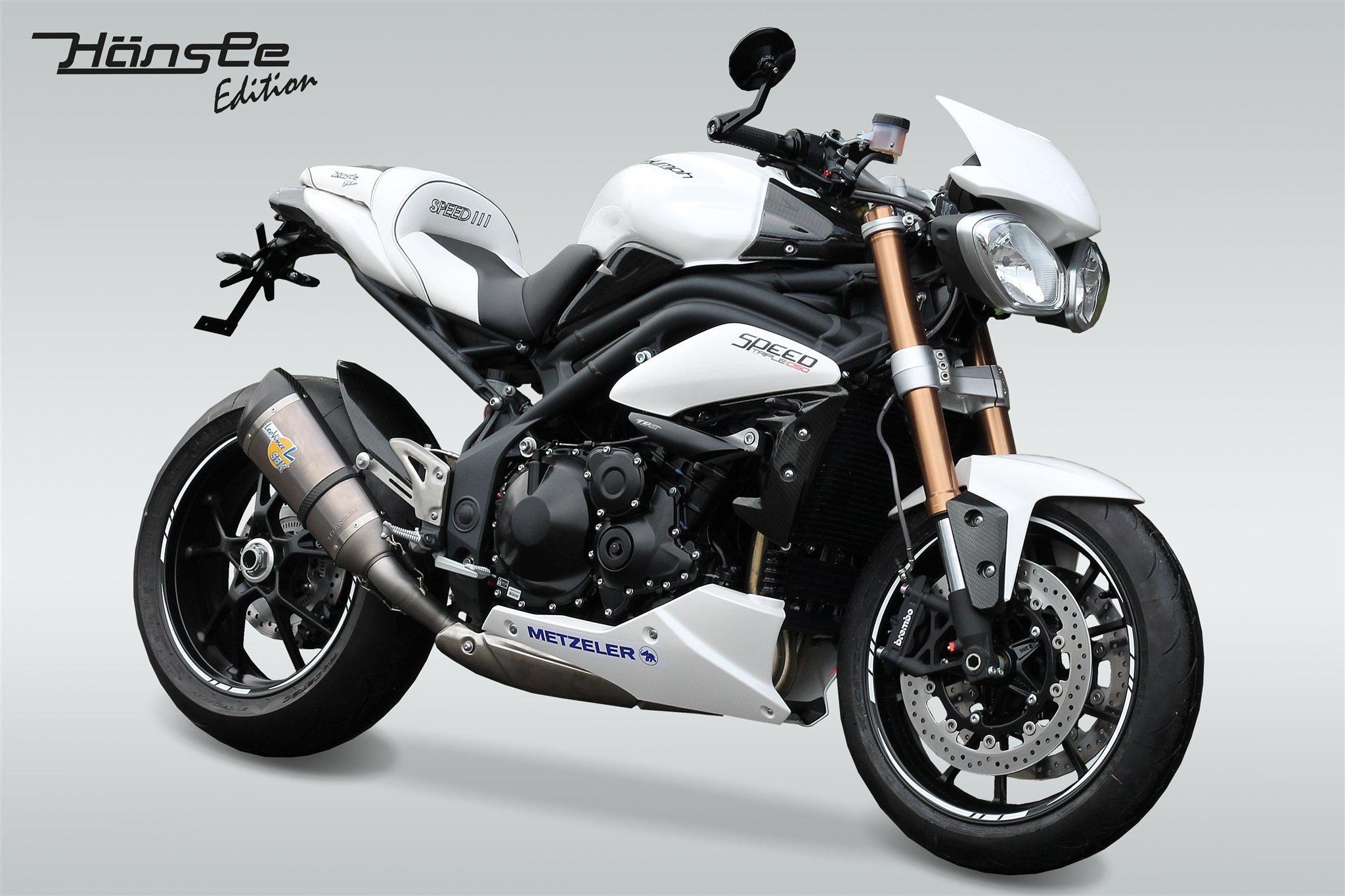umgebautes motorrad triumph speed triple 1050 von h nsle motorradsport gmbh. Black Bedroom Furniture Sets. Home Design Ideas
