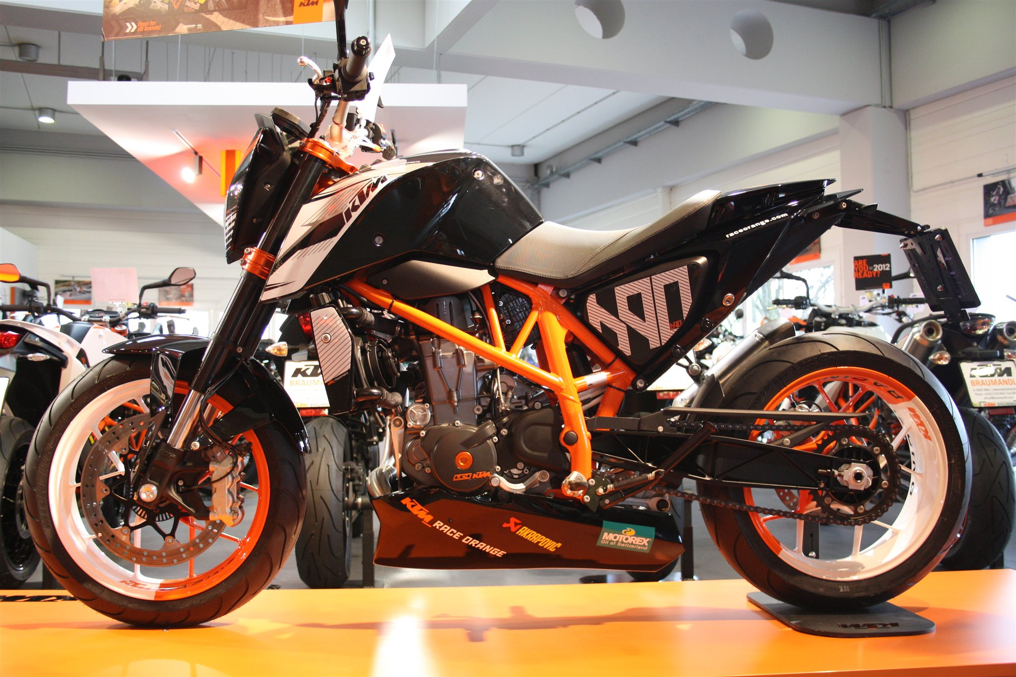 Umgebautes Motorrad KTM 1190 RC8 R von Motorrad Rubin