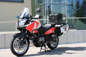 Suzuki V-Strom 650 Umbau anzeigen