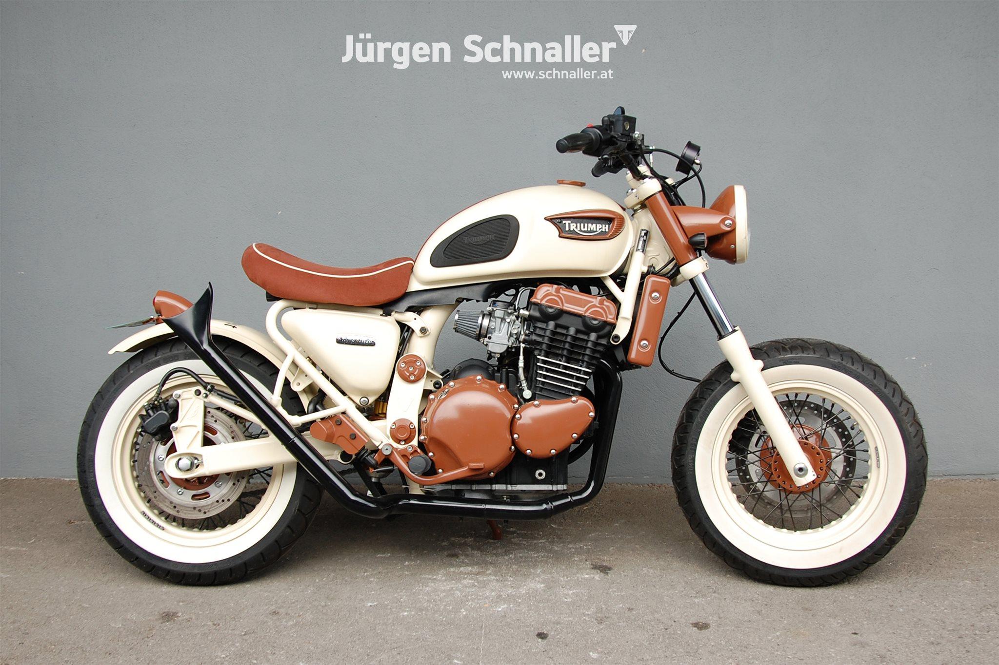 Details Zum Custom Bike Triumph Adventurer Des Händlers Triumph