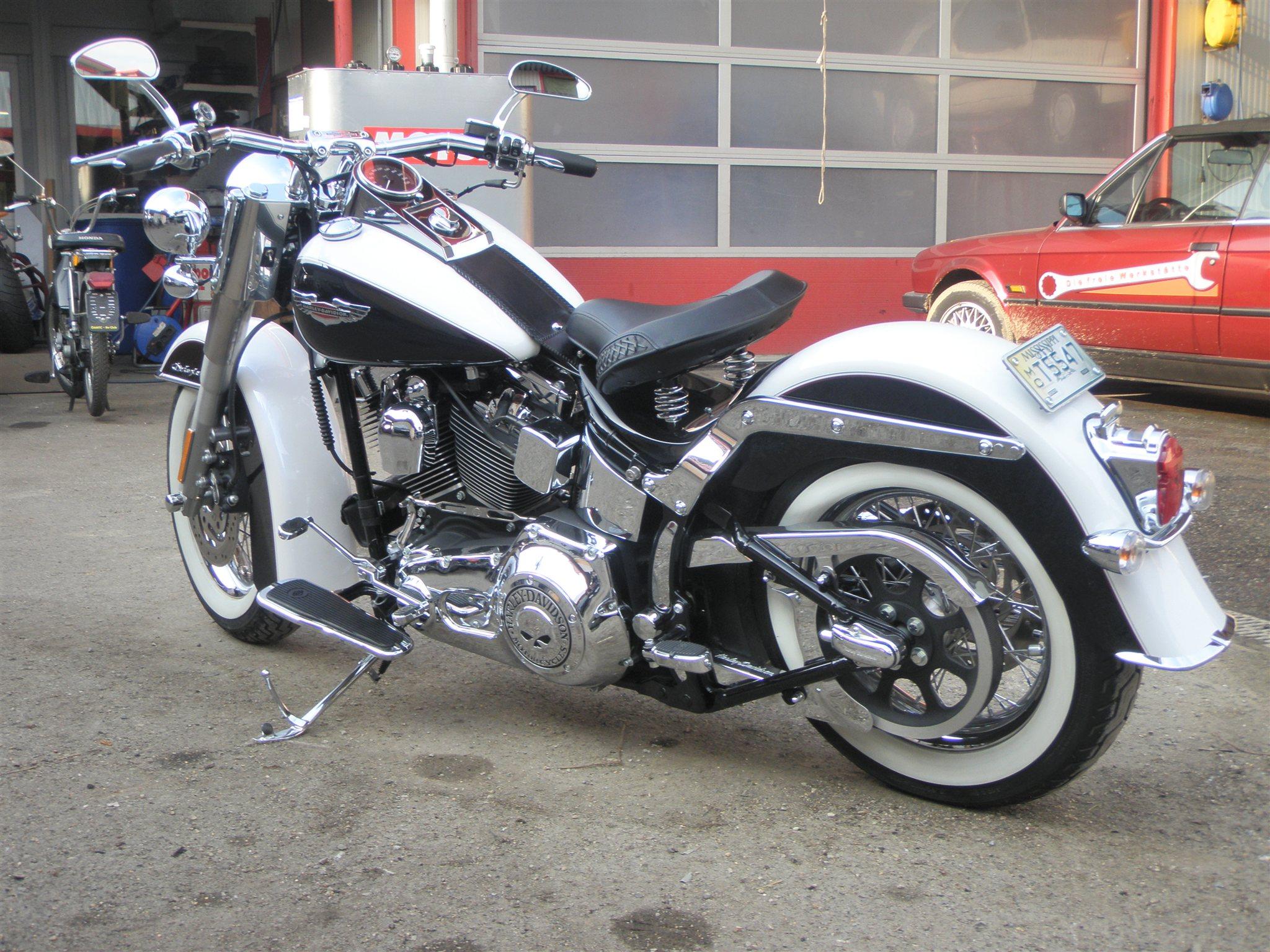Umgebautes motorrad harley davidson softail custom fxstc von berni s biker bude - Sigle harley davidson ...