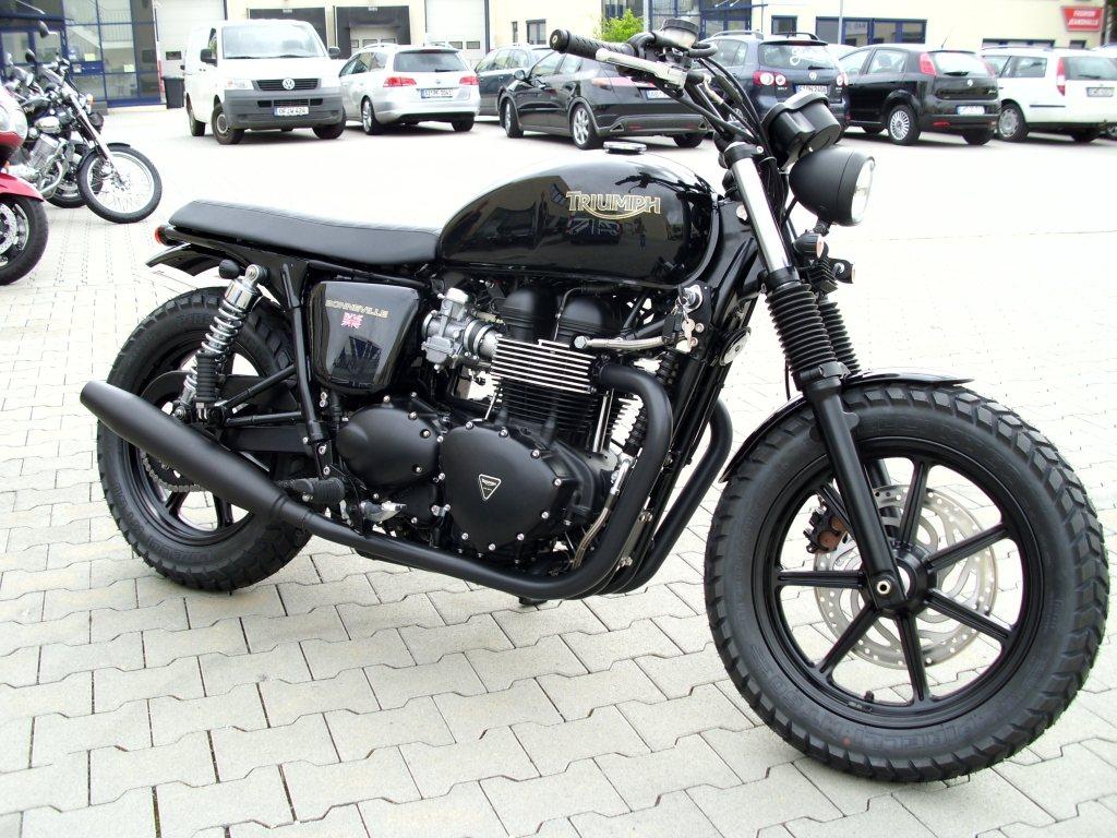 Umgebautes Motorrad Triumph Bonneville Se Von Triumph Retail Gmbh