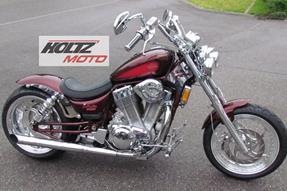 Suzuki VS 1400 GLP Intruder Umbau anzeigen