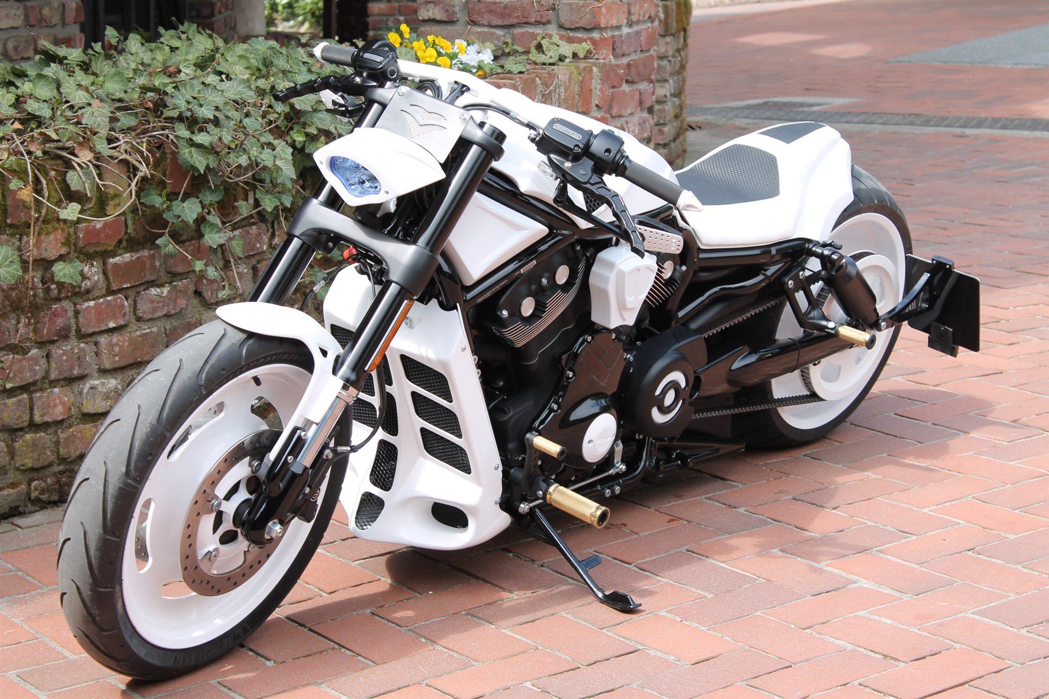 umgebautes motorrad harley davidson night rod special vrscdx von x trem lotter harley import. Black Bedroom Furniture Sets. Home Design Ideas