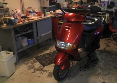 Gebrauchtmotorrad Piaggio Sfera