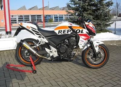 Honda CB 500 F Stark umgebaut