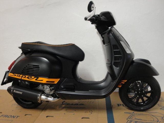 umgebautes motorrad vespa gts 300 i e super sport von jahelka zweirad gmbh co kg. Black Bedroom Furniture Sets. Home Design Ideas