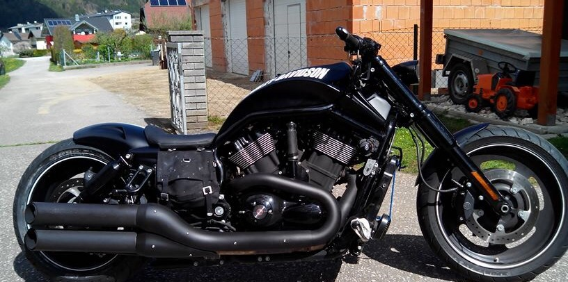 umgebautes motorrad harley davidson night rod special. Black Bedroom Furniture Sets. Home Design Ideas