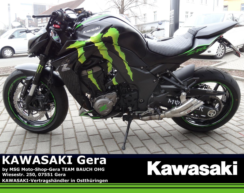 umgebautes motorrad kawasaki z 1000 von msg moto shop gera team bauch ohg. Black Bedroom Furniture Sets. Home Design Ideas