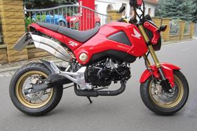 Honda MSX 125 Umbau anzeigen