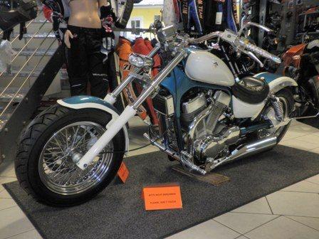 Umgebautes Motorrad Suzuki Intruder VS 1400 Von Zweirad Kogler