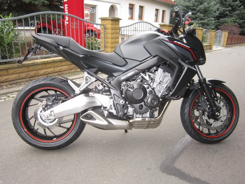 Umgebautes Motorrad Honda CB 650 Von Zweiradtechnik Jorg Schlieter