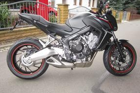 Honda CB 650 Umbau anzeigen