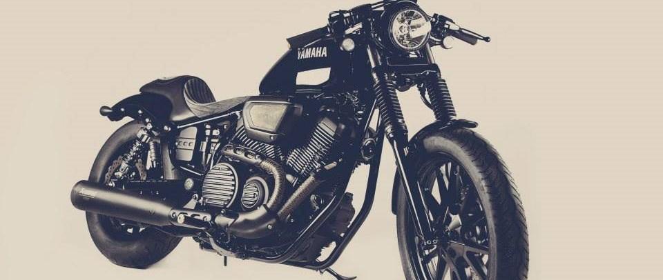 umgebautes motorrad yamaha xv 950 von ws motorradtechnik. Black Bedroom Furniture Sets. Home Design Ideas