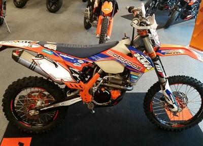 KTM 350 EXC-F Stark umgebaut