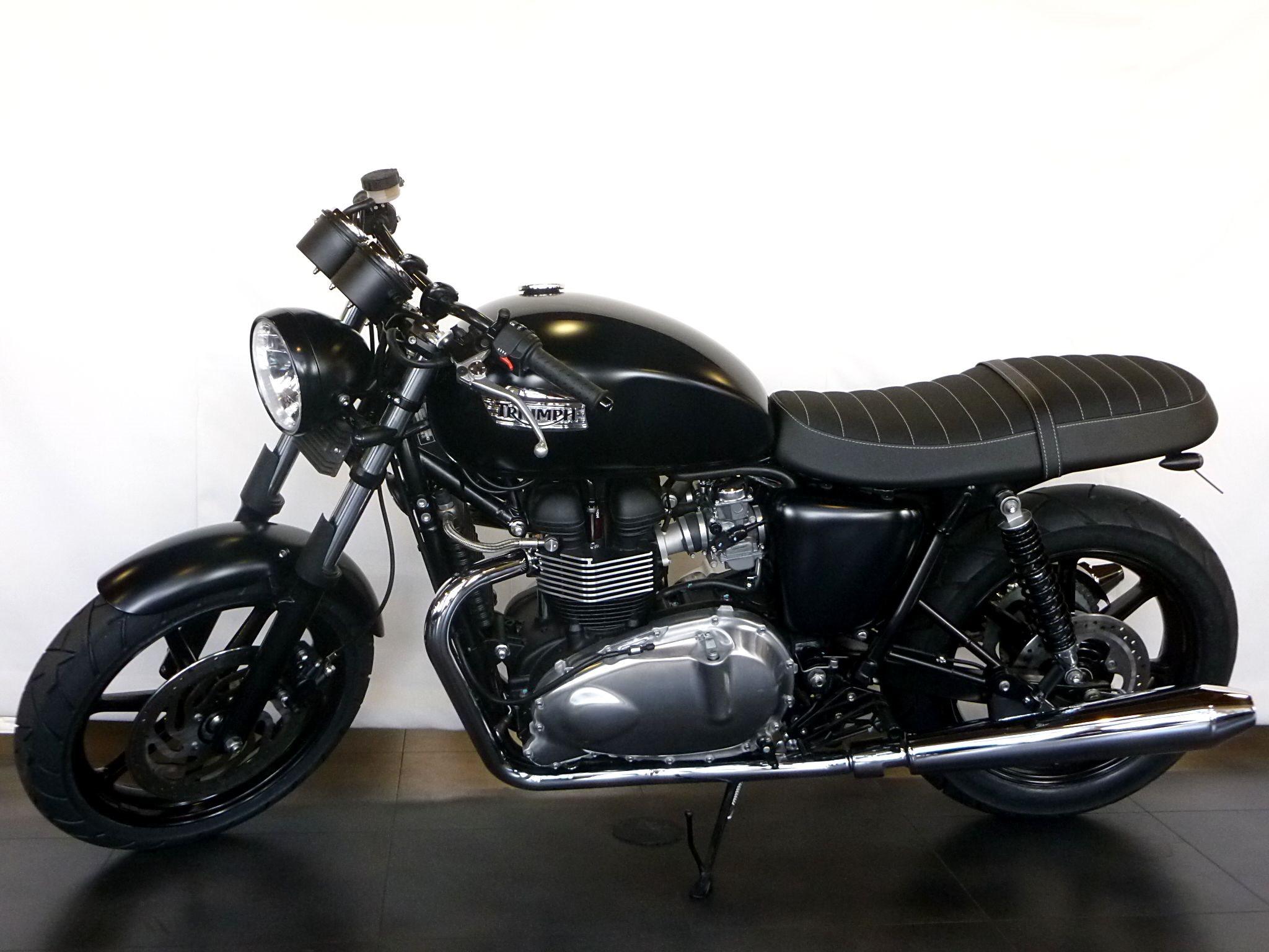 umgebautes motorrad triumph bonneville se von sbf triumph bikes parts gmbh co kg. Black Bedroom Furniture Sets. Home Design Ideas
