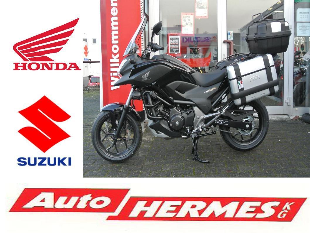 details zum custom bike honda nc750x des h ndlers auto hermes kg. Black Bedroom Furniture Sets. Home Design Ideas