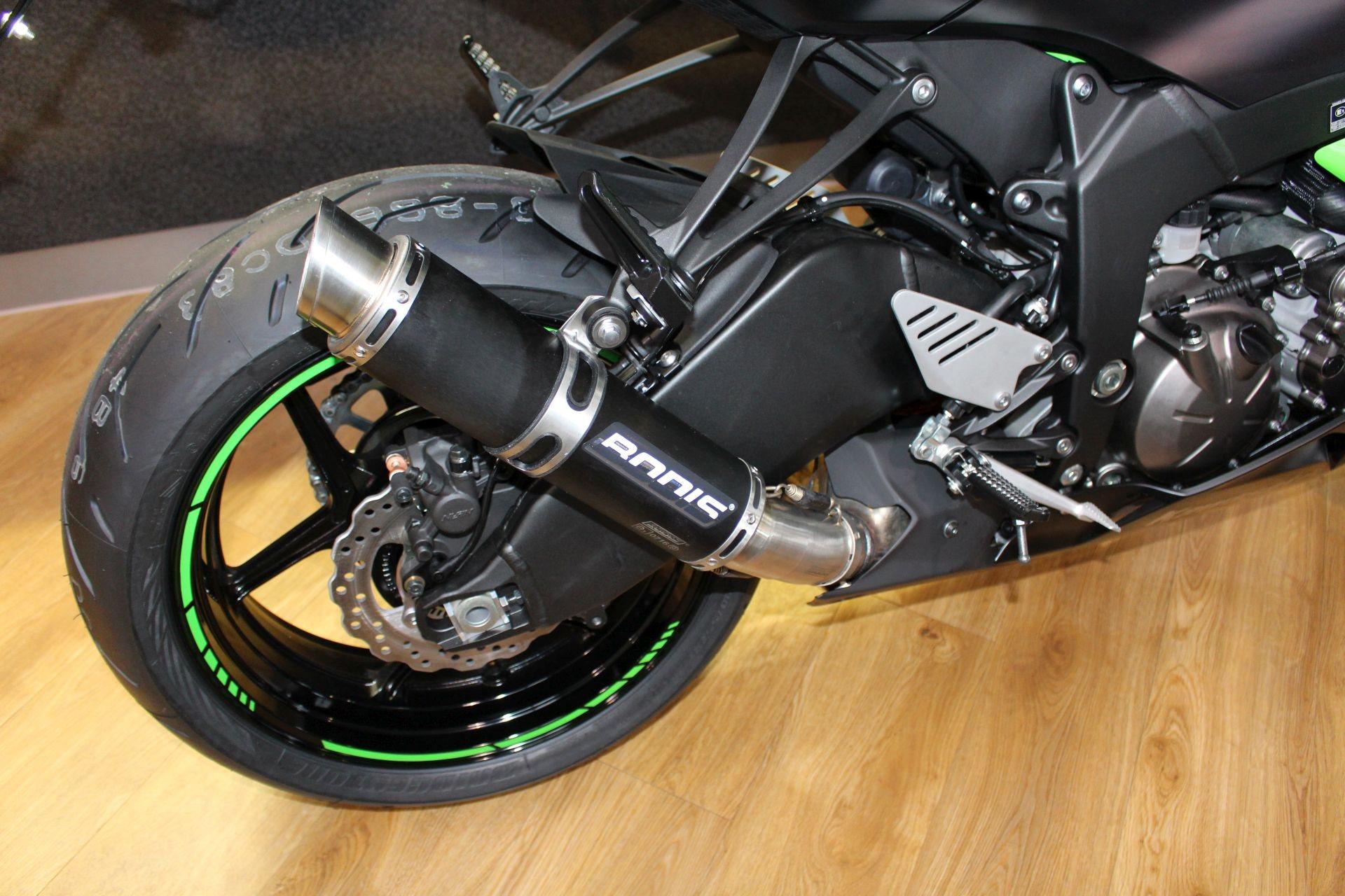 Umgebautes Motorrad Kawasaki Ninja ZX 6R 636 Von Zweiradtechnik Zepf GmbH