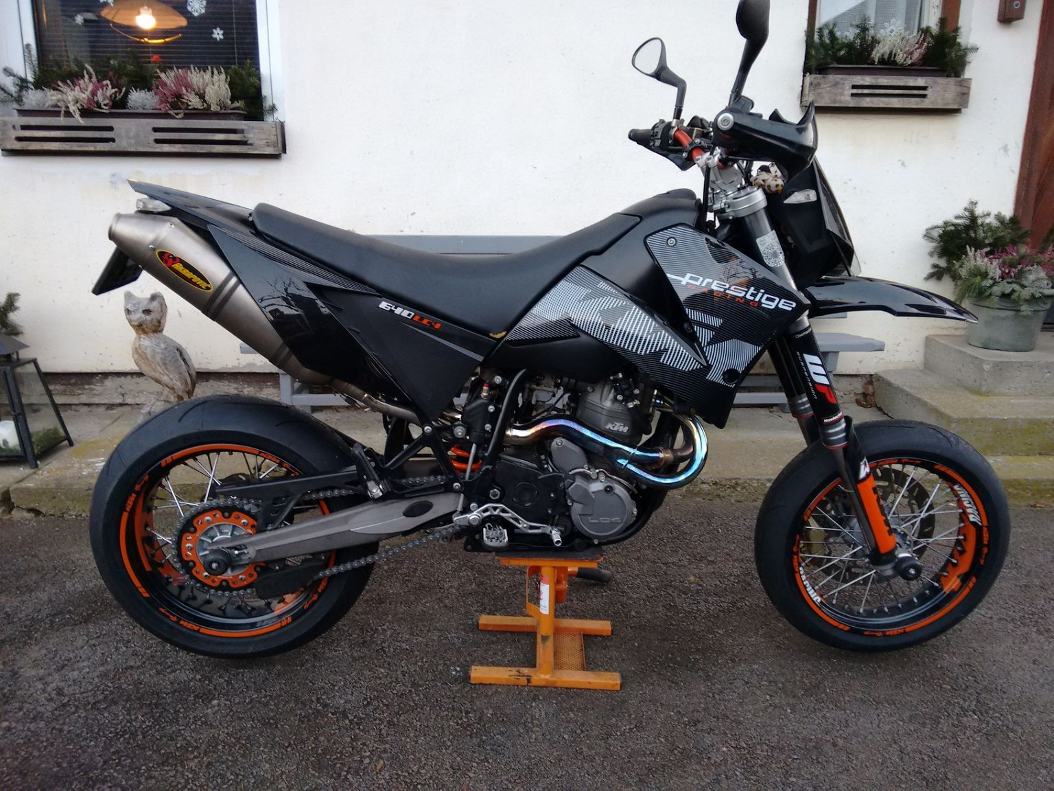 2001 Ktm 640 Lc4 Supermoto Wiring Diagram Umgebautes Motorrad Von Nwgjulian 1536x1152