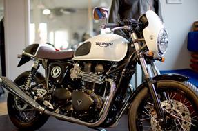 Triumph Thruxton Ace Umbau anzeigen