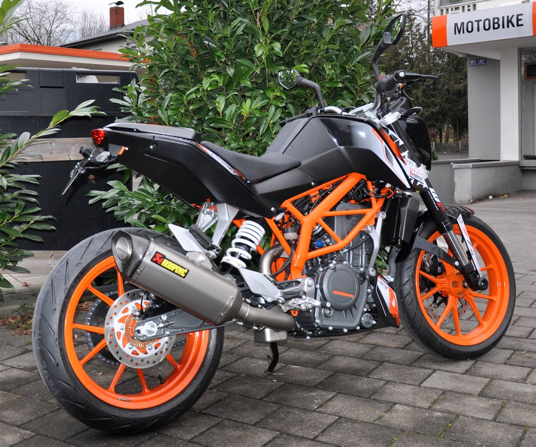 umgebautes motorrad ktm 390 duke von motobike handels gmbh. Black Bedroom Furniture Sets. Home Design Ideas
