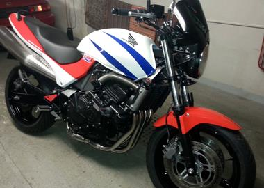 Gebrauchtmotorrad Honda CB 600 F Hornet