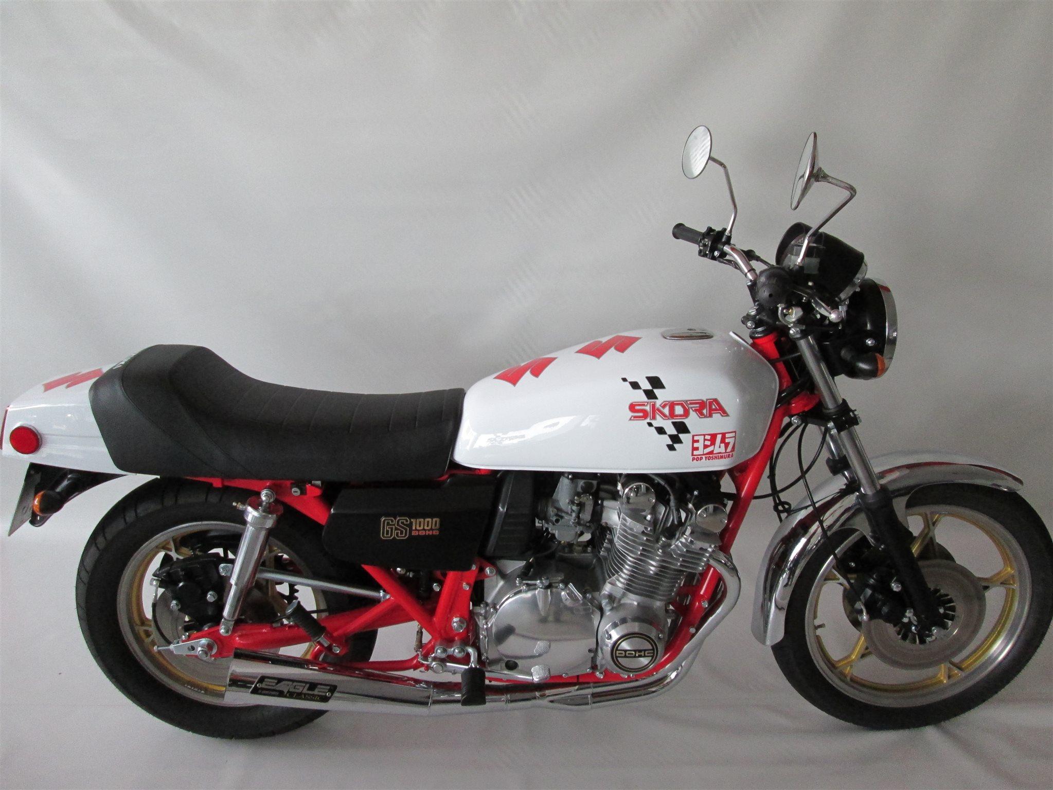 Umgebautes Motorrad Suzuki Gs 1000 Von Motorradservice Hartmut Skora Motorcycle Custom