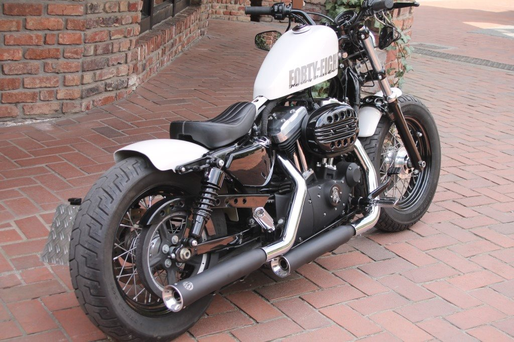 harley forty eight bobber umbau hobbiesxstyle. Black Bedroom Furniture Sets. Home Design Ideas