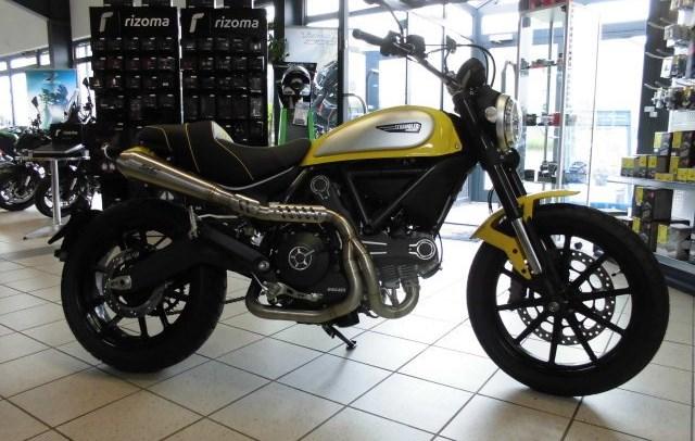 Umgebautes Motorrad Ducati Scrambler Icon Von Team Wahlers Gmbh