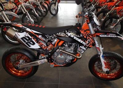 KTM 500 EXC Stark umgebaut