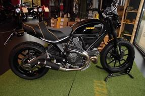 Ducati Scrambler Full Throttle Umbau anzeigen