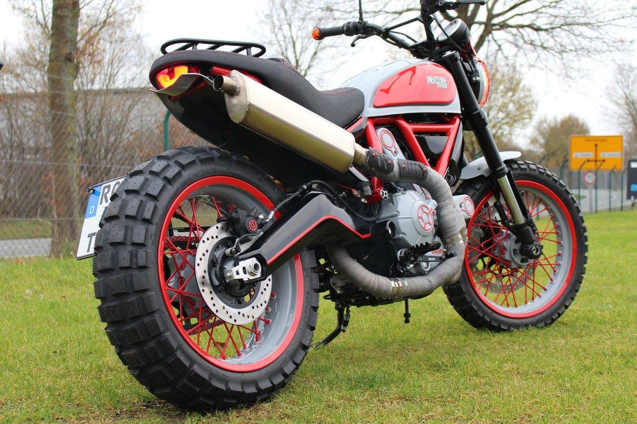 umgebautes motorrad ducati scrambler icon von team wahlers. Black Bedroom Furniture Sets. Home Design Ideas